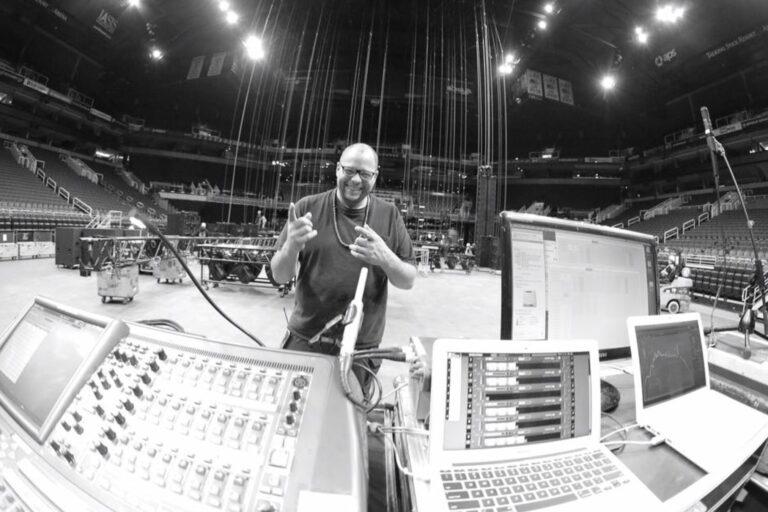 Bruce Reiter at a concert