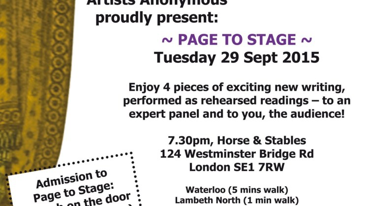 "<div class=""category-label-blog"">Blog</div><div class=""category-label"">/</div>Page to Stage – Tues 29 September. The complete programme!"