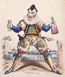 Grimaldi as Joey the Clown