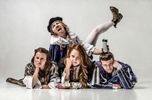 Shit-faced Shakespeare Production Still 5 - © Rah Petherbridge Photography - © Magnificent Bastard Productions Ltd