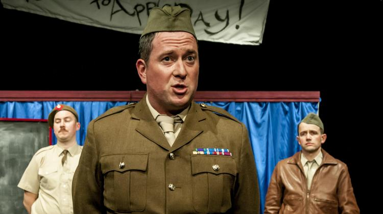 "<div class=""category-label-review"">Review</div><div class=""category-label"">/</div>Instructions for American Servicemen in Britain @ Jermyn St Theatre"