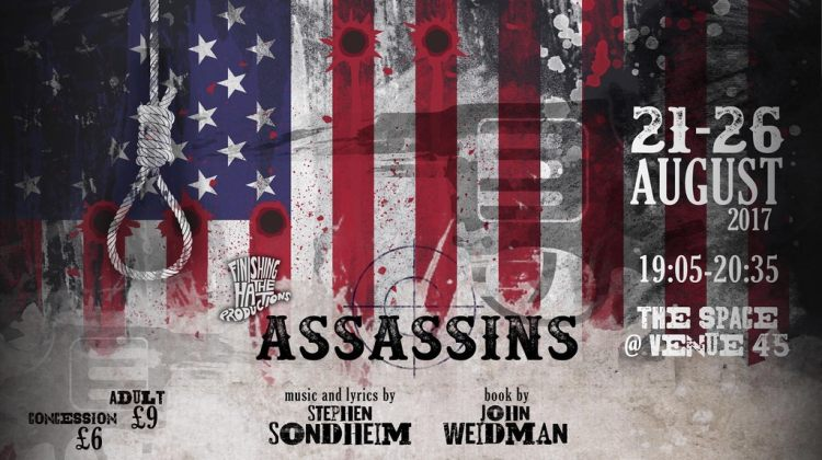 "<div class=""category-label-review"">Review</div><div class=""category-label"">/</div>EdFringe 2017 – Assassins at The Space @Venue45"