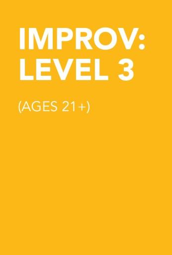 Improv: Level 3 (21+)