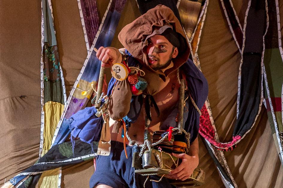Saro dans le nouveau spectacle du Théâtre d'Anoukis : Salina