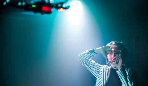 """""""Je suis une epopée individuelle"""" intelligence artificielle gafam - Création du Théâtre d'Anoukis- 2 octobre 2020 - Toboggan (Rhone)"""