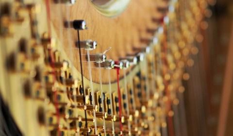 Voyage en harpe et Voyage d'Hiver, spectacles de Maud ARDIET - Conte et harpe