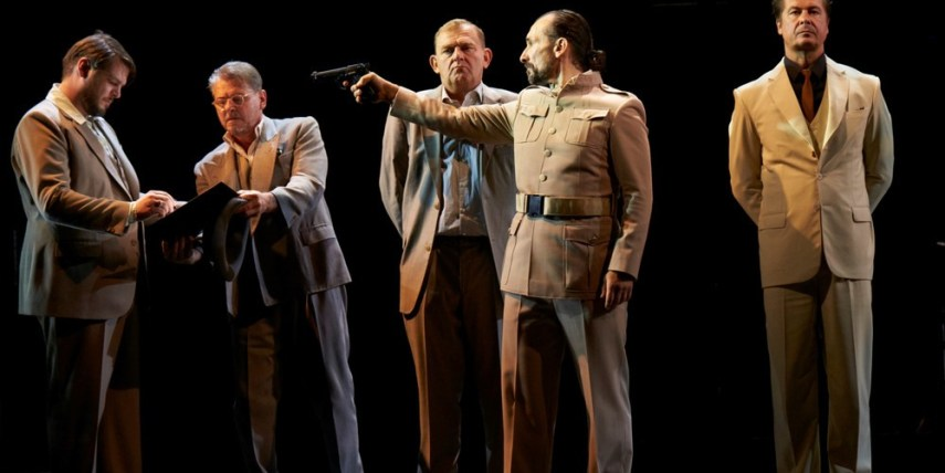 """The performance """"Journey of the lost"""" directed by Janusz Kica and the production of the Theater in der Josefstadt from Vienna awarded as the best performance"""