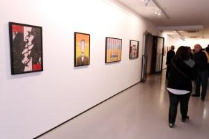 Otvorenje izložbe kazališnih plakata Mirka Ilića u Galeriji Kortil