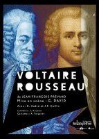 Affiche Voltaire Rousseau