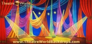 Le Cirque Celebration Professional Scenic Backdrop