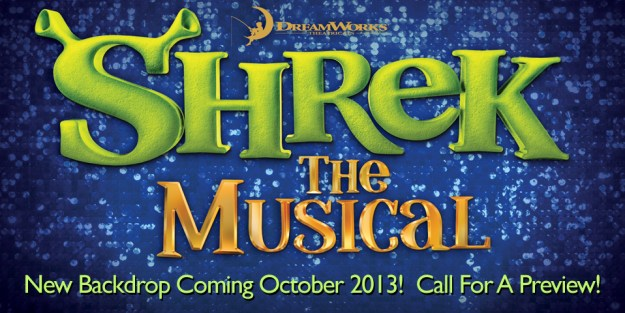 TheatreWorld's Shrek Professional Scenic Backdrops Coming Soon