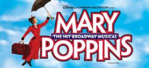 MARY POPPINS Logo Professional Scenic Backdrops