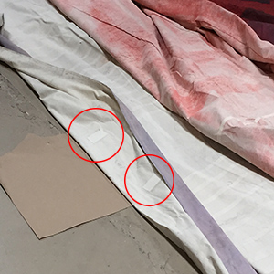 Professional Scenic Backdrop Fabric Repair