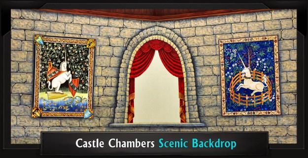 CASTLE CHAMBERS Professional Scenic Shrek Backdrop