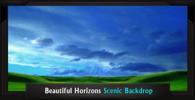 Beautiful Horizons Professional Scenic Mary Poppins Backdrop
