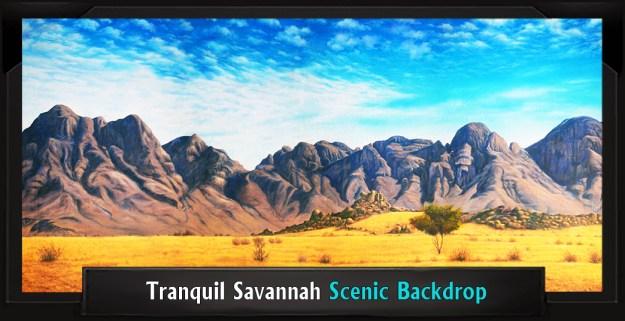 Tranquil Savannah Professional Scenic JOSEPH... DREAMCOAT Backdrop