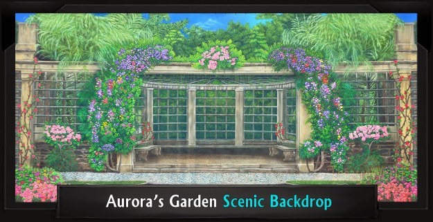 Aurora's Garden Professional Scenic My Fair Lady Backdrop