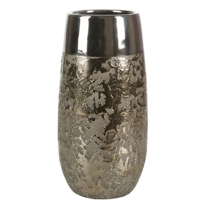 Sale Ceramic Vase C238 Silver 26cm Vases Home Decor The Atrium