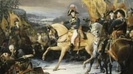 Bataille de Hohenlinden. Peinture de Henri Frédéric Schopin.