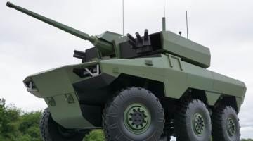 Maquette du prochain Jaguar (programme Scorpion)