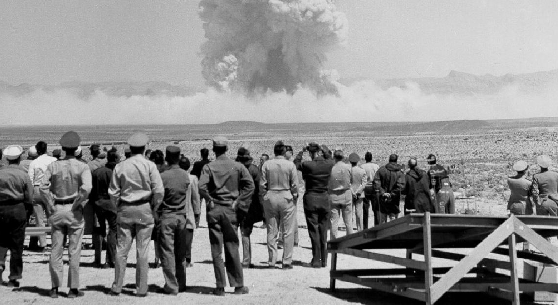 Nevada bombe