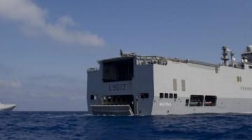 BPC Tonnerre et Mistral. Crédit : Marine nationale.