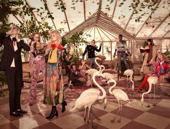 La realtà surreale e colorata della campagna Gucci Pre Fall 2016