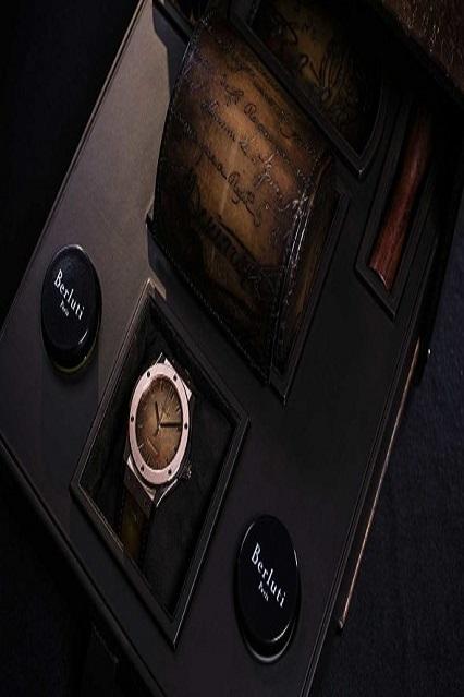 Gli orologi di Hublot incontrano il brand del lusso LVHM