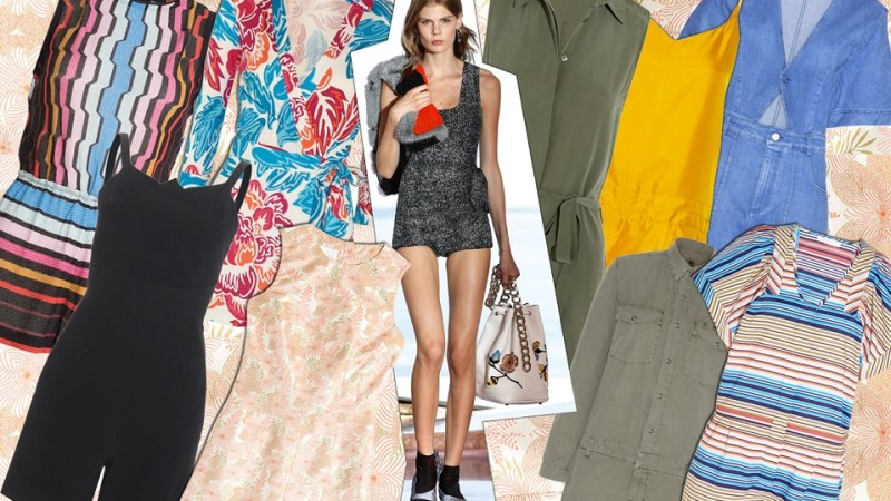 Trend Jumpsuits SS2016: short is better