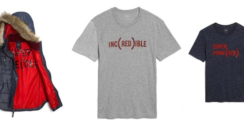 Gap e RED: una collezione per la lotta contro l'Aids