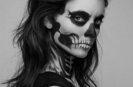 Halloween Makeup - Skull Makeup