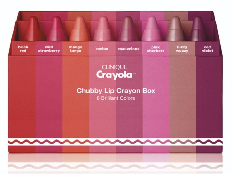 Crayola™ for Clinique Limited- fate splendere le vostre labbra