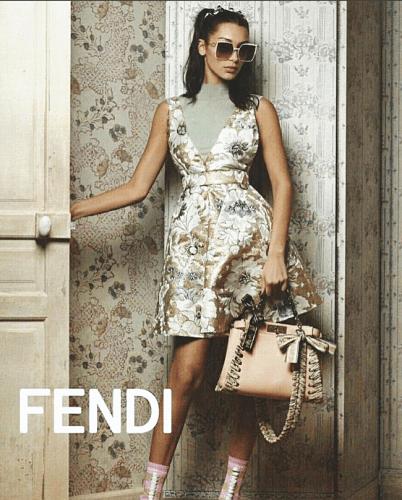 Bella Hadid per Fendi SS17