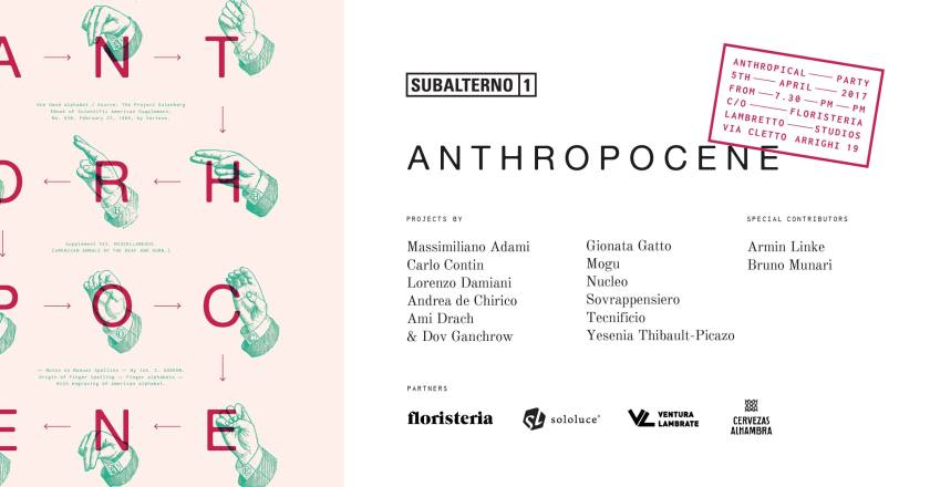 Subalterno1 presenta Anthropocene – Milano Design Week #12