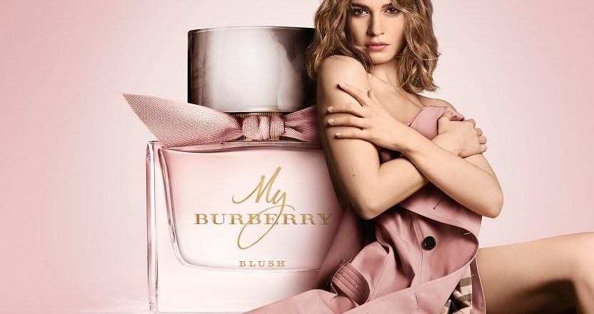 My Burberry Blush – la nuova campagna con Lily James