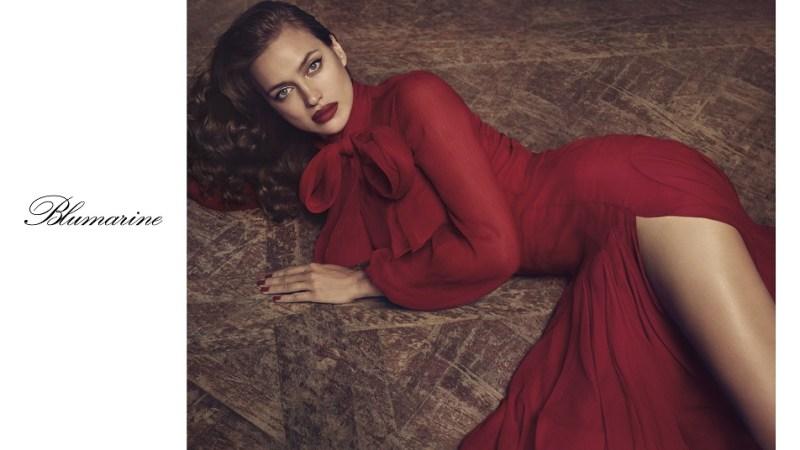 Irina Shayk protagonista per Blumarine Fall 2017