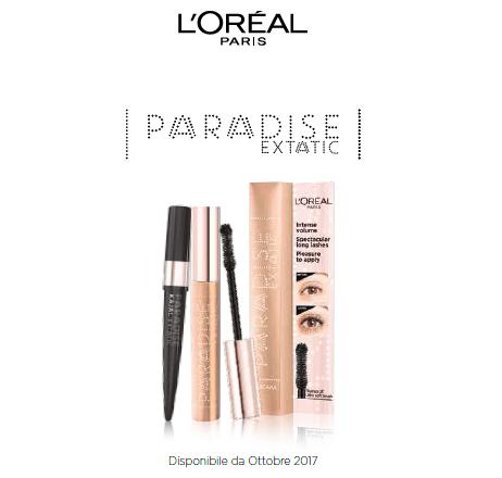 A tutto volume con L'Oréal Paris Paradise Extatic