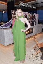 Elle Fanning in Valentino al The Hollywood Reporter And Jimmy Choo Power Stylists Dinner, Los Angeles