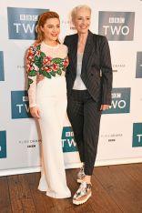 Florence Pugh e Emma Thompson ialla screening of King Lear, London