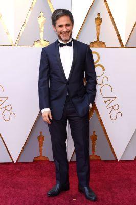 Gael Garcia Bernal in Dior Homme agli Oscars 2018, LA