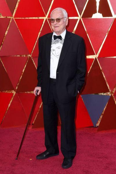 James Ivory agli Oscars 2018, LA