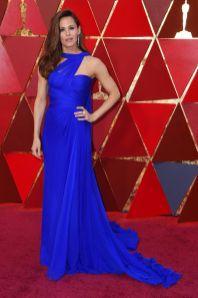 Jennifer Garner in Atelier Versace agli Oscars 2018, LA