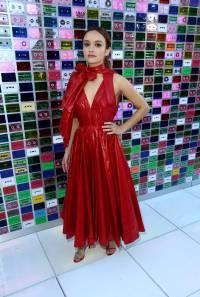 Olivia Cooke in Calvin Klein alla 'Ready Player One' premiere, California