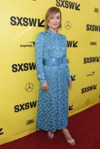 Olivia Wilde in Carolina Herrera al SXSW, Austin