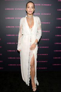 Rita Ora in La Perla al Lorraine Schwartz Event, Los Angeles