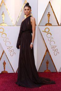 Zendaya in Giambattista Valli agli Oscars 2018, LA