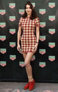 Bella Hadid al lancio di Tag Heuer Ginza Boutique, Tokyo