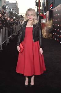 Elizabeth Moss in Dior al 'The Handmaid's Tale' Season 2 party, Los Angeles
