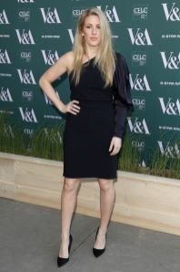 Ellie Goulding in Stella McCartney al V&A Fashioned From Nature event, London