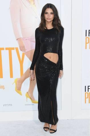Emily Ratajkowski in Michael Kors alla 'I Feel Pretty' premiere, Los Angeles